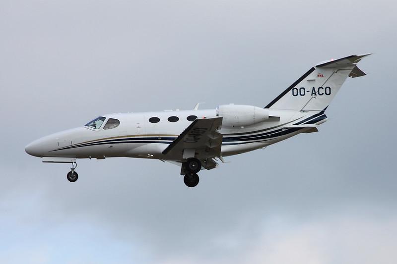 OO-ACO Cessna 510 Citation Mustang c/n 510-0260 Frankfurt/EDDF/FRA 03-06-15