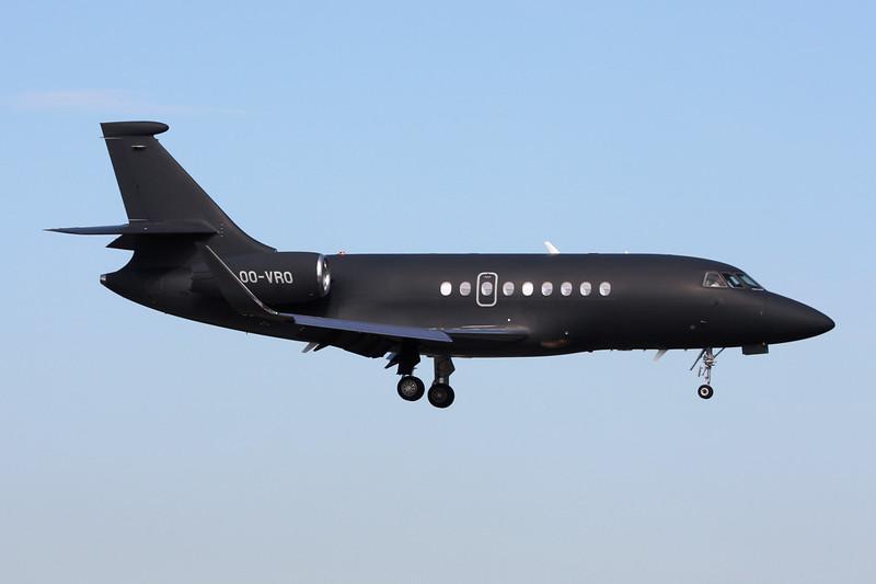 OO-VRO Dassault Falcon 2000LX c/n 196 Brussels/EBBR/BRU 23-06-14