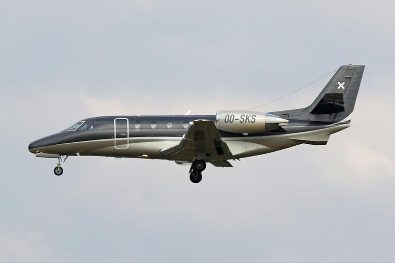 OO-SKS Cessna 560 Citation Excel S c/n 560-5701 Brussels/EBBR/BRU 01-08-20