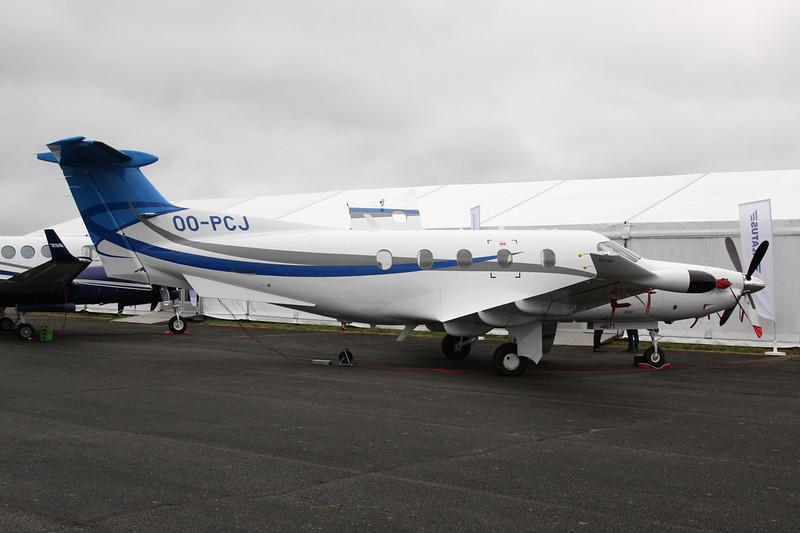 OO-PCJ Pilatus PC-12-47E c/n 1571 Pontoise/LFPT/POX 03-06-16