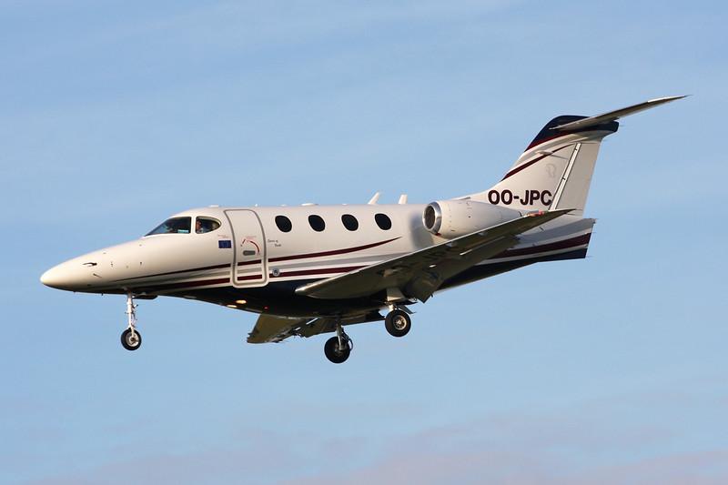 OO-JPC raytheon 390 Premier 1A c/n RB-228 Paris-Le Bourget/LFPB/LBG 01-10-14