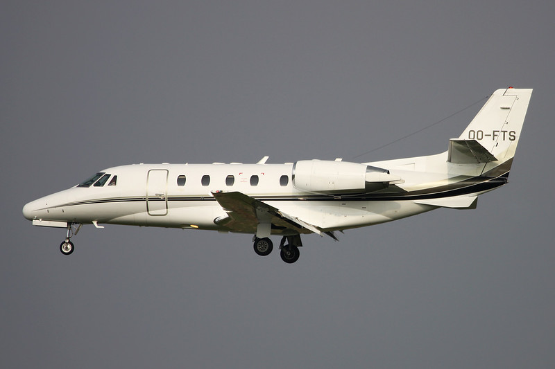 OO-FTS Cessna 560XL Citation Excel c/n 560-5318 Brussels/EBBR/BRU 11-06-16