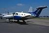 OO-SXC Embraer Emb-121A Xingu c/n 121-042 Fairford/EGVA/FFD 19-07-97 (35mm slide)