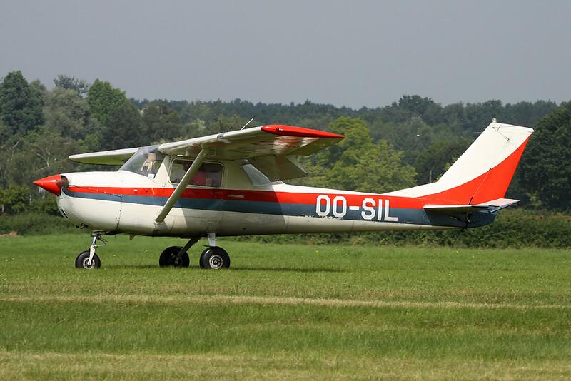 OO-SIL Reims-Cessna F.150F c/n 0022 Schaffen-Diest/EBDT 14-08-16