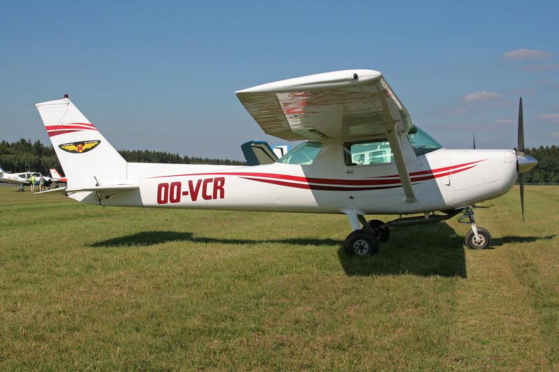 OO-VCR Cessna 152 c/n 152-83529 Spa-La Sauveniere/EBSP 04-08-07