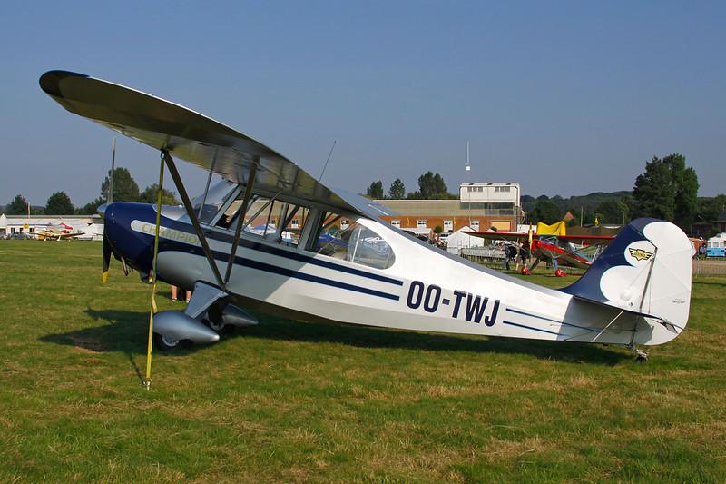 OO-TWJ Aeronca 7AC Champion c/n 7AC-3625 Schaffen-Diest/EBDT 11-08-12