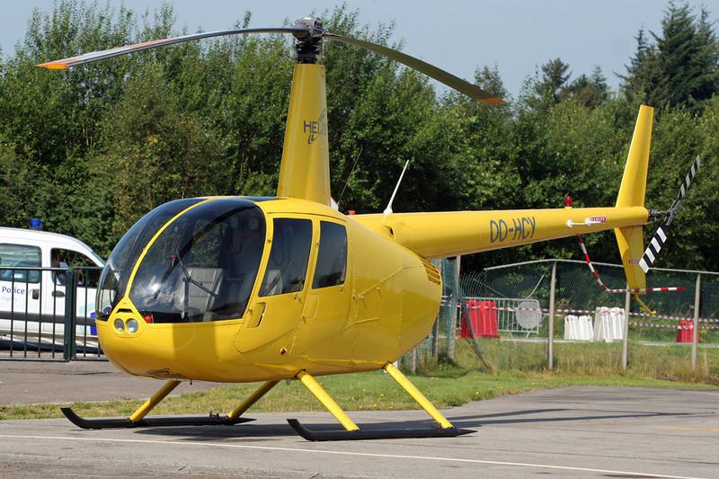 OO-HCY Robinson R44 Raven I c/n 1592 Spa-La Sauveniere/EBSP 04-08-07
