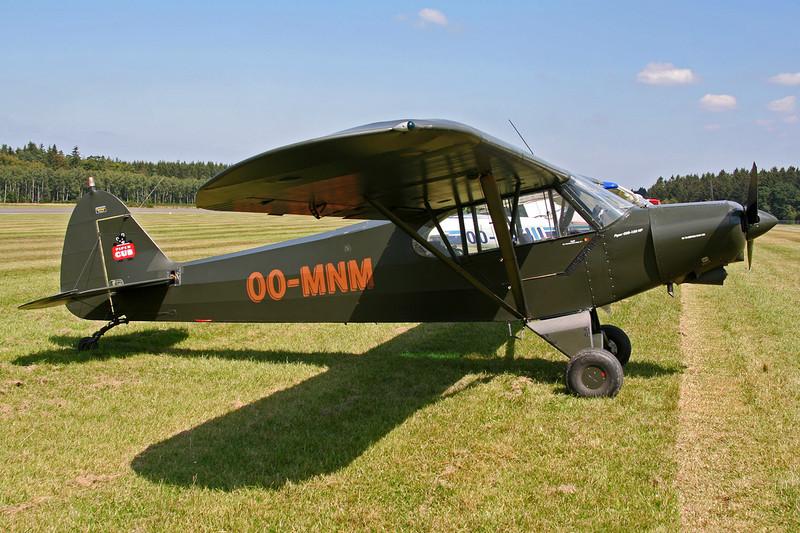 OO-MNM Piper PA-18-150 Super Cub c/n 18-8009035 Spa-La Sauveniere/EBSP 04-08-07