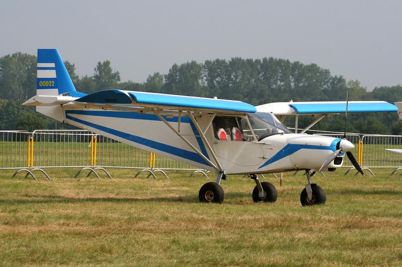 OO-D22 Zenair CH.701 STOL c/n 7-9000 Schaffen-Diest/EBDT 12-08-07