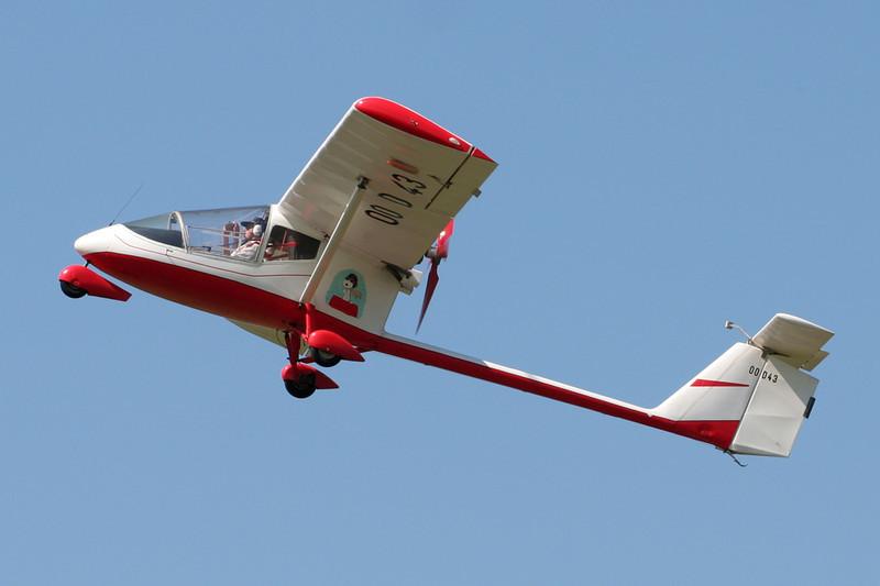 OO-D43 Aviasud AE.209 Albatros c/n 126 Spa-La Sauveniere/EBSP 04-08-07