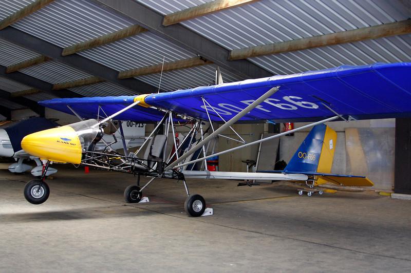 OO-F66 Rans S.12 Airaile c/n 03960698 Avernas/EBAV 19-08-12