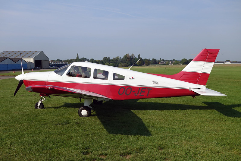 OO-JET Piper PA-28-161 Warrior III c/n 2842282 Namur/EBNM 03-09-17