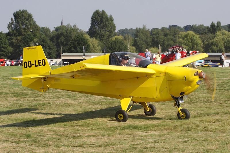 OO-LEO Tipsy T.66 Nipper II c/n 62 Schaffen-Diest/EBDT 11-08-12