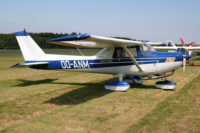 OO-ANM Cessna 152 c/n 152-81455 Spa-La Sauveniere/EBSP 04-08-07