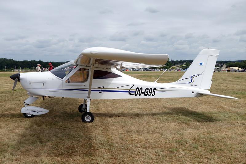 OO-G95 Tecnam P.92 Echo c/n 1403 Schaffen-Diest/EBDT 16-08-15