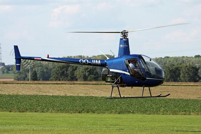 OO-JIM Robinson R22 Beta c/n 1512 Namur/EBNM 02-09-17
