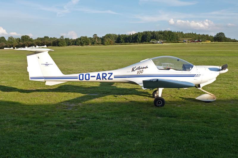 OO-ARZ HOAC DV-20 Katana c/n 20.144 Verviers-Theux/EBTX 02-09-11