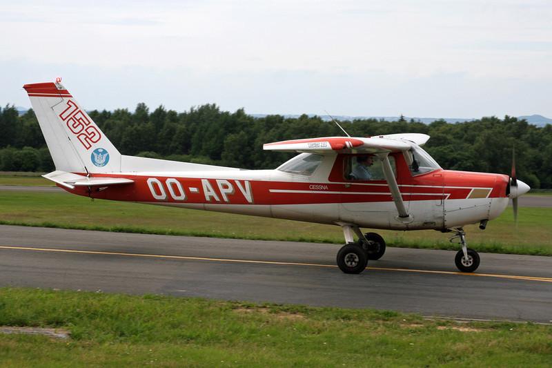 OO-APV Cessna 152 c/n 152-79842 Spa-La Sauveniere/EBSP 08-07-07