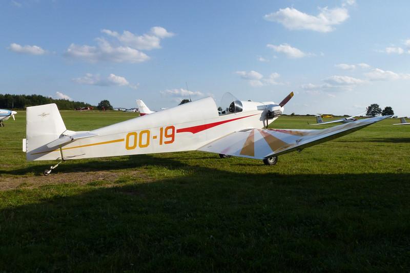 OO-19 Jodel D.92 Bebe c/n CD-03 Verviers-Theux/EBTX 03-09-11