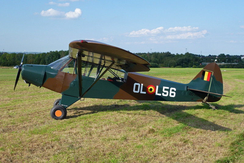 OO-HBQ (OL-L56) Piper PA-18-95 Super Cub c/n 18-3130 Verviers-Theux/EBTX 03-09-11