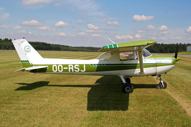 OO-RSJ Reims-Cessna FA.150L Aerobat c/n 0110 Spa-La Sauveniere/EBSP 03-08-07