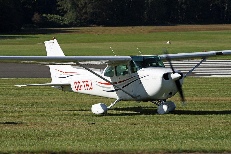 OO-TRJ Reims-Cessna F.172P c/n 2140 Spa/EBSP 03-09-16