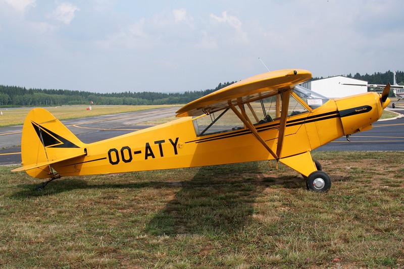 OO-ATY Piper PA-18-95 Super Cub c/n 18-3221 Spa-La Sauveniere/EBSP 05-08-06