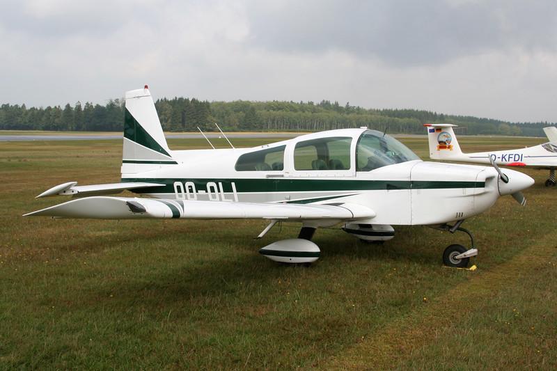 OO-OLI American Aviation AA-5A Cheetah c/n 0010 Spa-La Sauveniere/EBSP 05-08-06