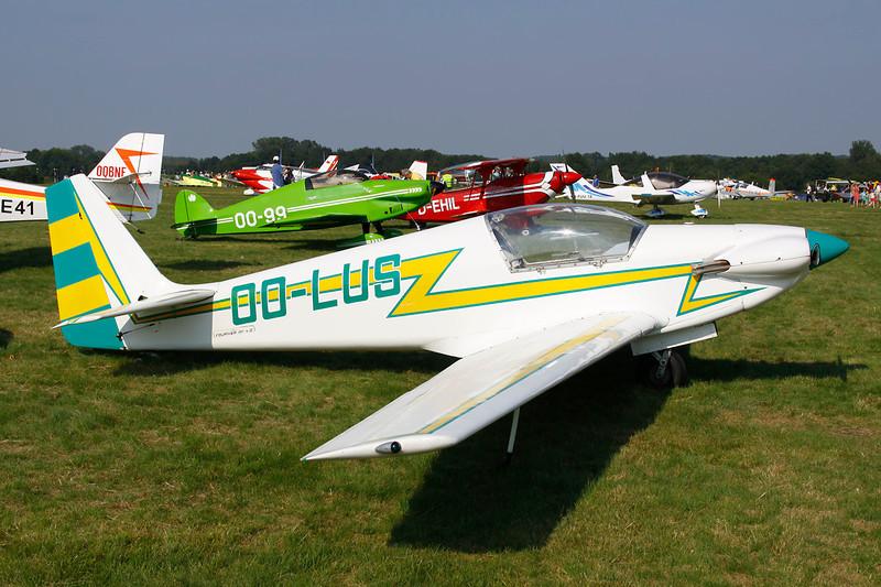 OO-LUS Sportavia-Putzer RF-4D c/n 4036 Schaffen-Diest/EBDT 11-08-12