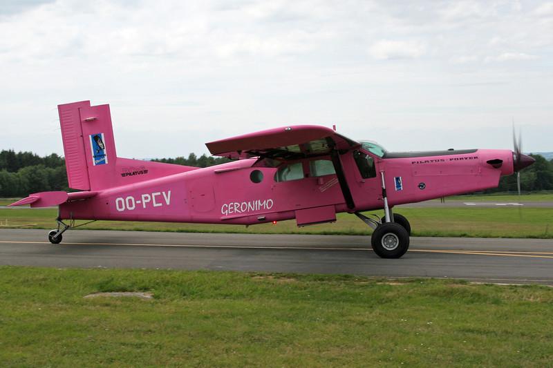 OO-PCV Pilatus PC-6B2-H4 Turbo Porter c/n 882 Spa-La Sauveniere/EBSP 08-07-07