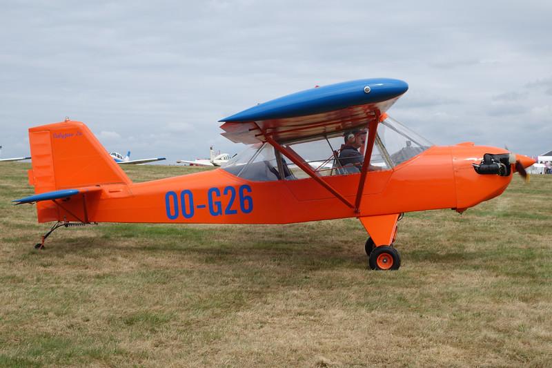 OO-G26 Ultracraft Calypso 2 c/n 003 Schaffen-Diest/EBDT 16-08-15
