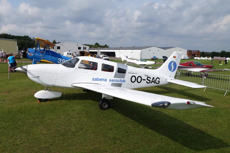 OO-SAG Piper PA-28-161 Archer III c/n 2843093 St.Hubert/EBSH 26-08-17