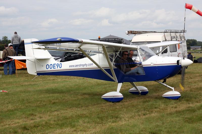 OO-E90 Aeropro Eurofox c/n 17005 Schaffen-Diest/EBDT 16-08-14