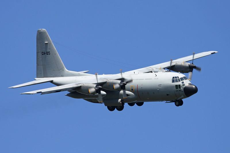 """CH-05 Lockheed C-130H Hercules """"Belgian Air Component"""" c/n 4470 Kleine-Brogel/EBBL 05-06-15"""