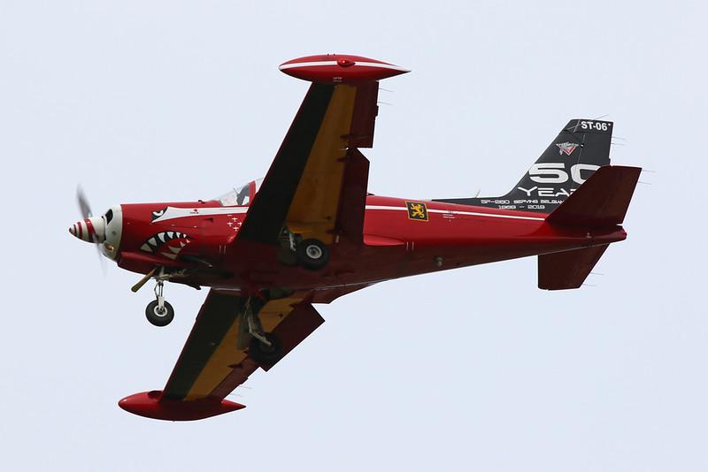 """ST-06 SIAI-Marchetti SF-260 M+ """"Belgian Air Component"""" c/n 10-06 Beauvechain/EBBE 19-08-20 """"50 Years SF-260"""""""