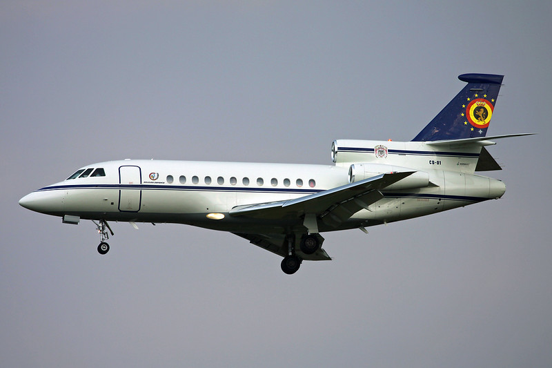 "CD-01 Dassault Falcon 900B ""Belgian Air Force"" c/n 109 Brussels/EBBR/BRU 11-06-16"