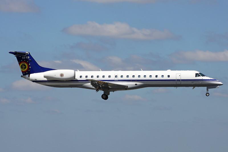 CE-03 Embraer ERJ-145LR c/n 145526 Brussels/EBBR/BRU 23-06-14