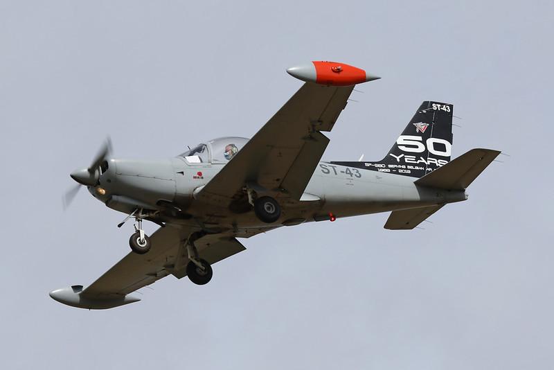 """ST-43 SIAI-Marchetti SF-260D """"Belgian Air Component"""" c/n 843 Beauvechain/EBBE 19-08-20 """"50 Years SF-260"""""""