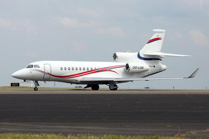 "OO-LUM Dassault Falcon 7X c/n <a href=""https://www.ctaeropics.com/search#q=c/n%2004"">04 </a>  Brussels/EBBR/BRU 12-06-20 ""Belgian Air Component"""