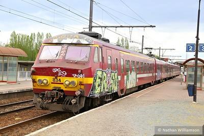 834 passes Antwerpen Noorderdokken  27/04/15