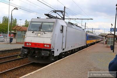 186142 passes Antwerpen Noorderdokken  27/04/15