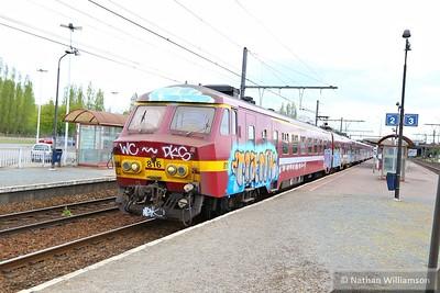 816 passes Antwerpen Noorderdokken  27/04/15
