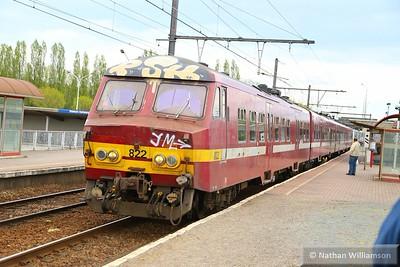 822 arrives into Antwerpen Noorderdokken  27/04/15