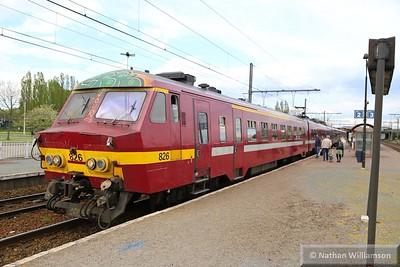 826 calls at Antwerpen Noorderdokken  27/04/15