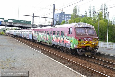 842 arrives into Antwerpen Noorderdokken  27/04/15