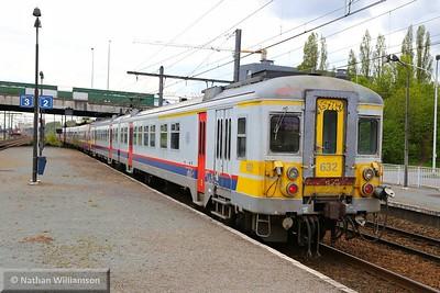 632 departs Antwerpen Noorderdokken  27/04/15