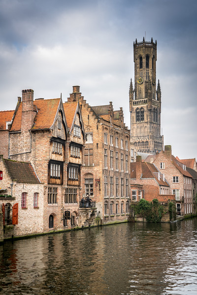 Belfry of Belgirum and France - Bruges