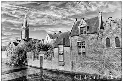Canal view - Bruges