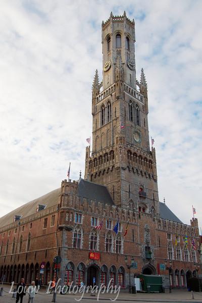 Belfort (Belfry Tower), Brugge, Belgium