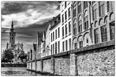 Canal Wall, Bruges